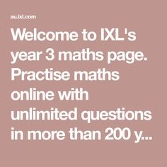 Welcome to IXL's year 8 maths page. Practise maths online with unlimited questions in more than 200 year 8 maths skills. Learning Sites, Learning Resources, Year 8 Maths, Ixl Math, Math Pages, Teaching Schools, Teaching Ideas, 5th Grade Math, Grade 1