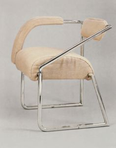 // Non-Conformist Chair, designed by Eileen Gray, 1926–1929. Philippe Garner Archives