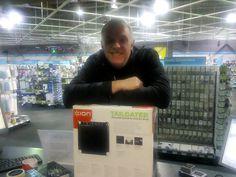 Greg Davies visiting our Leeds store! Greg Davies, Tailgating, Leeds, Celebrity, Store, Tent, Shop Local, Celebs, Celebrities