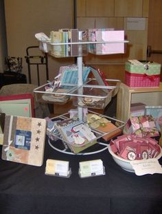 Great information about doing crafts shows and awesome display ideas for my cards!!!!