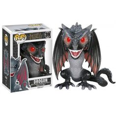 Funko Pop Game of Thrones Viserion Yellow Dragon Vinyl Action Figure POP 22#