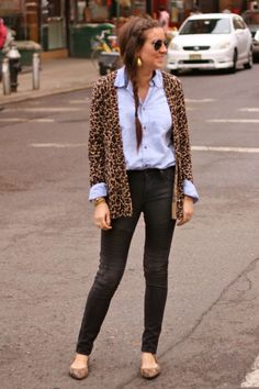 A touch of animal print