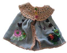 Sleeveless Coat Gray and Melon – Ldrubi Handmade
