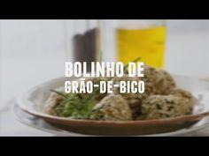 Bolinho de grão-de-bico | Receitas Saudáveis - Lucilia Diniz - YouTube