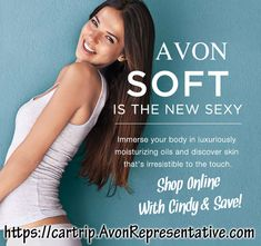 ~ Shop Avon Online with Avon Rep. Cindy --> Direct Delivery to your home. Avon Online Shop, Selling Online, Buy Makeup Online, Sale Campaign, Avon Skin So Soft, Avon Catalog, Avon Brochure, Avon Representative, Lady