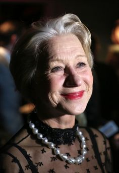 Helen Mirren attends the opening night after party for the Broadway opening of The Audience.