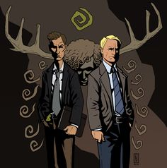 "Poster S01, Detective Rustin ""Rust"" Cohle & Detective Martin Hart"