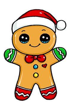 Easy Doodles Drawings, Cute Easy Drawings, Cute Little Drawings, Cute Christmas Wallpaper, Cute Christmas Tree, Cute Disney Wallpaper, Cute Animal Drawings Kawaii, Cute Cartoon Drawings, Disney Drawings