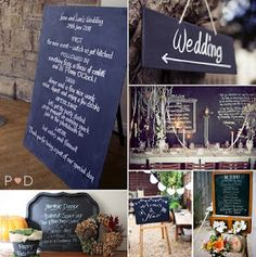 The Style Sisters: Chalkboard Food Tags and Menu Boards