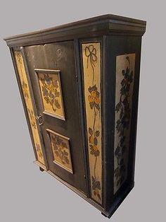 Lovely Toller Bauernschrank datiert in Antiquit ten u Kunst Mobiliar u Interieur Schr nke Antike Originale vor Kleiderschr nke