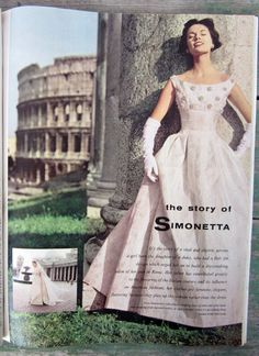 ana_lee: Simonetta. La Prima Donna della Moda Italiana