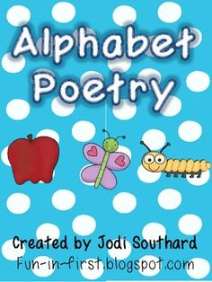 This packet includes a short, easy to read poem to go along with each letter of the alphabet.  Each letter includes a color version of the poem, a ...