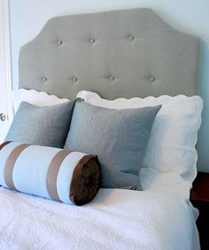 Love this one! Centsational Girl » Blog Archive » DIY Simple Tufted Headboard