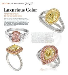Alluring rings, necklaces, and timepieces uniquely flavored with the sweetest diamonds, gems and gold. Witness Le Vian's most exquisite jewelry collection. Le Vian, All I Ever Wanted, Colored Diamonds, Ring Designs, Jewelry Collection, Jewelery, Romance, Gems, Fancy