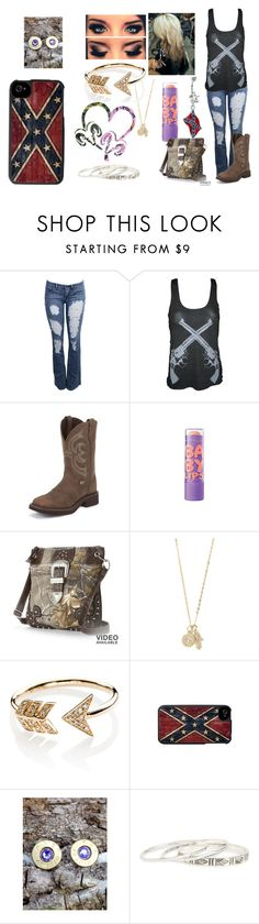 """Untitled #654"" by taylor-loomis ❤ liked on Polyvore featuring ULTA, Realtree, With Love From CA, EF Collection, Bullet and DailyLook"