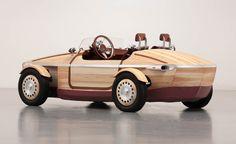 SABIOS DE COCHES: Toyota Setsuna la maquina de madera