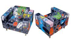Interior_tulostettu_palosuojattu_verhoilukangas Nerf, Console, Toys, Interior, Activity Toys, Indoor, Consoles, Interiors, Roman Consul