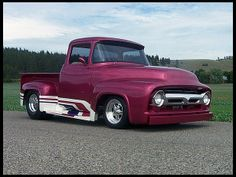 1956 Ford F100 Pickup 460/550 HP, Automatic