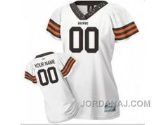 http://www.jordanaj.com/customized-cleveland-browns-jersey-women-field-flirt-fashion-football.html CUSTOMIZED CLEVELAND BROWNS JERSEY WOMEN FIELD FLIRT FASHION FOOTBALL Only 56.05€ , Free Shipping!