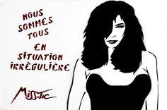 Les pochoirs de Miss Tic   Imaginaires Créatifs