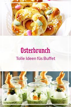 We have great ideas for an extensive brunch with family and friends. We have great ideas for an extensive brunch with family and friends. Easter Recipes, Brunch Recipes, Appetizer Recipes, Cake Recipes, Brunch Ideas, Easter Ideas, Donut Decorations, Snacks Für Party, Easter Dinner