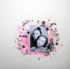 Mackenzie DT Florileges design page feutre floricolor