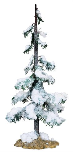 9 in. Glittering Pine by Lemax Collections Christmas Village Display, Christmas Villages, Lemax Village, Paper Houses, Mistletoe, Winter Holidays, Yule, Wonderful Time, Pagan