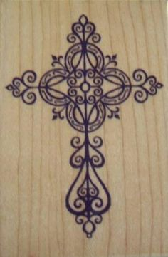 One of the crosses I might want in the middle of my shoulder blade