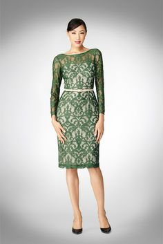 Maggy London - Scroll Lace Dress  Just ordered this for my niece's wedding in December & for my hubby's Christmas party this year.
