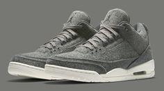 Wool Air Jordan 3 854263-004