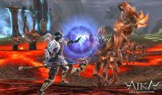 Aika Online é uma história de conflitos e guerras eternas entre duas fações opostas criadas pela Deusa Aika.