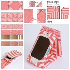 Do you want to have your personality ipad/phone case stand ? Step by step and video --> http://wonderfuldiy.com/wonderful-diy-sewing-ipadphone-case-stand/