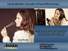 Sandy Blandin, Founder of Nose Who Knows