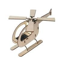 Solar Powered Helicopter Kit - Construct your personal helicopter with a functional rota powered by its own solar panel. This model is a replica of a full-scale helicopter that has a working rota and powered by its own incorporated solar panel.