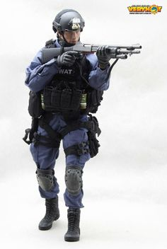 onesixthscalepictures: Very Hot SWAT Ver.2 : Latest product news for 1/6 scale figures (12 inch collectibles) from Sideshows Collectibles, H...