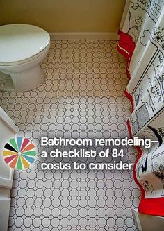 #Friday Bathroom remodeling — a checklist of 84 costs to consider — Retro Renovation