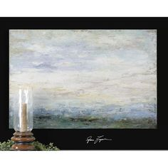 Uttermost Free Fall Hand Painted Art 32229