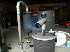 Cool DIY Series : How to turn Wood into Free Motor Fuel With a Homemade Wood Gas Generator - Step by step Build Instructions - Page 2 of 2 - Practical Survivalist Wood Gasifier, Diy Forge, Rocket Mass Heater, Gas Generator, Faia, Solar Projects, Rocket Stoves, Power Energy, Water Heating