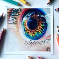 WANT A FREE FEATURE ?  1) like and comment on this photo  2) follow @ladyterezie  3) CLICK link in my profile   Happy instagramming!   #art #freeshoutouts #shoutout #feature #shoutouts   Repost from @sydney_nielsen_art  New eye drawing! I use Prismacolor pencils  I'm probably going to do another hair drawing next  I hope you like this one though! Do you think I improved?   Reference photo is from @eyestructure  #drawing #art #artist #eyes #eye #beautiful #rainbow #colorful #love #instagood…