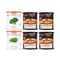 Mountain House FreezeDried Poultry Entrees and Vegetable Side Combo * More info could be found at the image url.