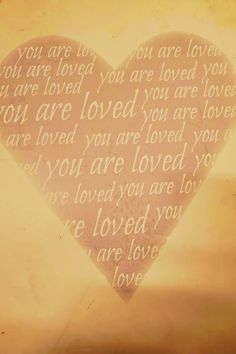 Above all else, know that you are loved. #lovequotes #youareloved #happiness via @tlcforcoaches Feel Good Quotes, Best Quotes, Love Quotes, Live Love, Love You, Forms Of Poetry, Love Never Dies, All Is Well, Love Words