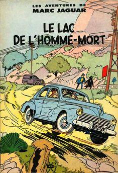 Marc Jaguar - BD informations cotes Comic Book Covers, Comic Books Art, Comic Art, Superman, Batman, Jaguar, Vintage Comics, Vintage Posters, Ligne Claire