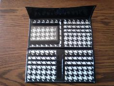 Houndstooth Duct Tape Woman's Wallet by MyKismetCreations on Etsy, $13.00
