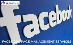 Facebook promotion is about engaging with your customers and prospects. It helps increase your promotions for your products. Troop Social is here for your Facebook Page Management Services.