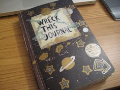 Wreck This Journal Cover by kitchan333.deviantart.com ; so so so cute #wtj