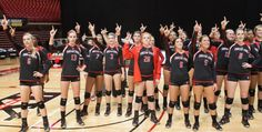 2012-13 #TexasTech Volleyball Players