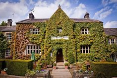 The Michelin-starred Yorke Arms in the North Yorkshire Dales, England.