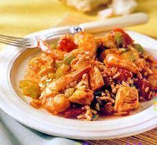 Weight Watchers Chicken and Shrimp Jambalaya