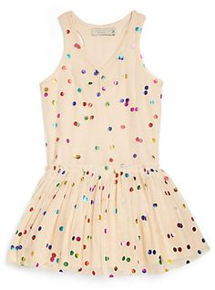 Stella McCartney Toddler's & Little Girl's Dotted Tulle Dress on shopstyle.com