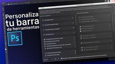Personalizar barra de herramientas en Photoshop CC 2015.1